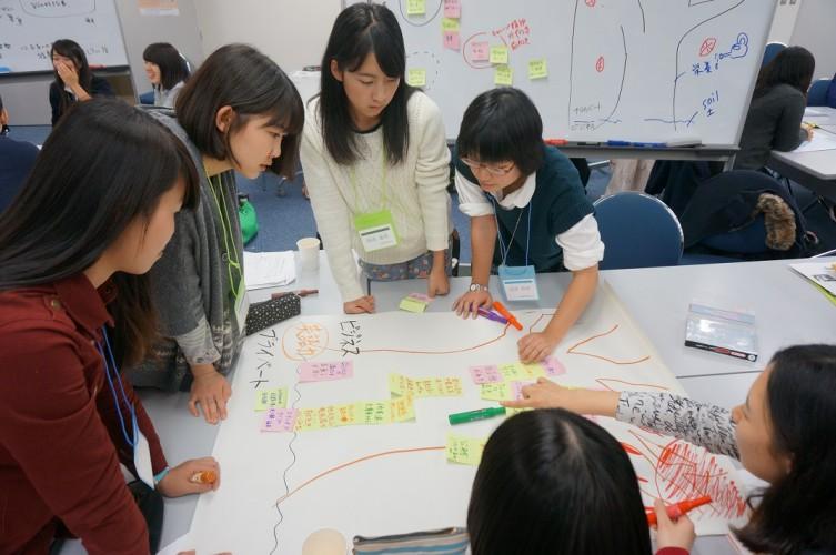1109高校生セミナー(グループワーク)04
