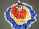 バイア州民族衣装の人形