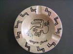 ナスカの地上絵の灰皿