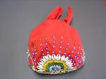 花蓮の帽子(赤)